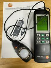 Testo 545 Luminous Intensity Measuring Instrument Light Meter