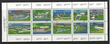 CANADA 1983 CANADA DAY FORTS BOOKLET PANE FINE USED