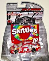 KYLE BUSCH 2016 1/64 NASCAR AUTHENTICS #18 RED SKITTLES TOYOTA CAMRY WAVE 7 RARE