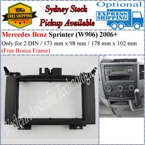 Fascia facia Fits Mercedes Benz Sprinter W906 2006+ Double 2 DIN Dash Kit