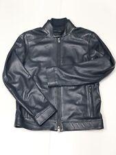 Genuine Hugo Boss Men's Lamb Nappa Leather Jacket.size: UK 48 ( MEDIUM)