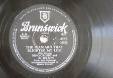 78 rpm CROSBY - AL JOLSON the spaniard that blighted my life / alexander ragtime