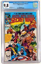 Marvel Super Heroes Secret Wars  # 1 CGC  9.8 -  Comic Lot