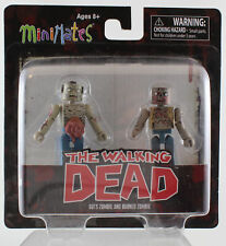 Mini Mates: The Walking Dead guts zombie and burned zombie