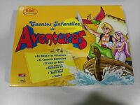 CUENTOS INFANTILES DE AVENTURAS 6 DVD EN CAJA GRANDE ALI BABA SIMBAD