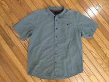 The North Face Men's Black Button Down Front Camp Shirt Size L