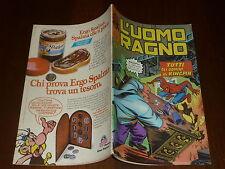 L' UOMO RAGNO N° 220 CORNO Ed CORNO 1978 DA RESA - MAGAZZINO !!
