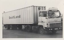 FORD ARTICULATED TRUCK PHOTOGRAPH PICTURE SEALAND CONTAINER LORRY PHOTO JCD682P.