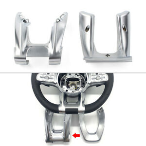 Car Steering Wheel Lower Trim Cover For Mercedes-Benz AMG A B C E CLASS