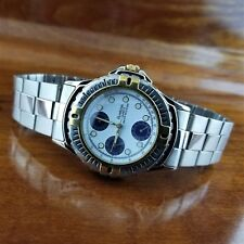 ARMITRON Men's Chronograph Tachymeter Watch Day Date Military Time