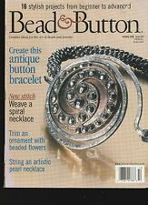 Back Issue Bead A7 Button Magazine October 2000 Issue 39