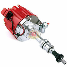 Ford 351C 351M 400 429 460 HEI Distributor 65,000 KV Coil 7500 RPM Module RED