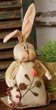Kountry Kousins Soft Sculpture- Bunny W/Flowers
