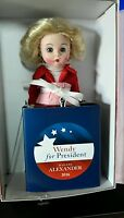 Madame President 8'' Madame Alexander Doll with Podium, New NRFB