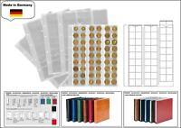 1 LOOK 1-7394-5 Münzhüllen Münzblätter PREMIUM 54 Fächer Für Münzen bis 20 mm