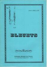 AMELLER - Bleuets pour Clarinette si b avec accompagnement de Piano
