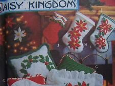 Simplicity Holiday Pattern Collection Daisy Kingdom #8992 Stockings Pillows