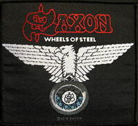 "SAXON PATCH / AUFNÄHER # 10 ""WHEELS OF STEEL"""