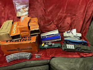 1961 Time Capsule Lionel 1647 Space & Military set #45 Engine & Cars in ORIG BOX