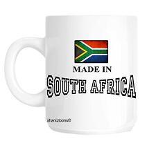 Made nato in Sudafrica Regalo Di Compleanno Tazza SHAN 622