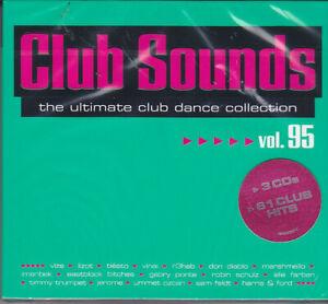 Club Sounds Vol. 95 - OVP - 3 CDs - Neuerscheinung