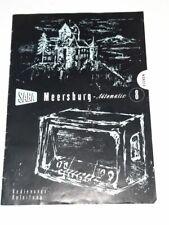 Bedienungs-Anleitung aus Saba Meersburg-Automatic 8 - Röhrenradio