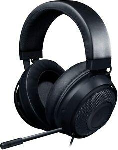 Razer Kraken Gaming Headset Retractable Noise Isolating Microphone PC PS XBOX