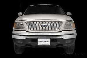 Putco 84130 Stainless Steel Punch Honeycomb Grille Overlay for 97-98 Ford F-150