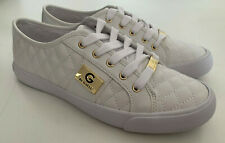 NEW! GUESS OADIE WOMEN'S WHITE LEATHER SNEAKERS SHOES 8.5 38.5 SALE