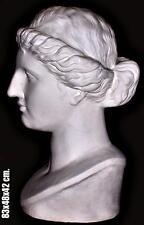 Greek Sculpture Hera, (Roman: Juno) The Wife of Zews, Actual size 83x48x42cm.