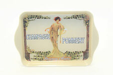 "Cartexpo Vintage Advertising ""Champagne Pommery"" Small Serving Trinket Tray"