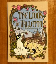 THE LIONS OF VALLETTA by Ursula Murray Husted