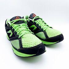 New listing Newton Running Shoes Mens Sneakers BLACK / GREEN M000912 - SZ 12