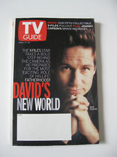 David Duchovny Fatherhood 1999 TV Guide Collector Series #5 Pullout X Files