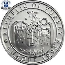 Polierte Platte Münzen aus der Türkei