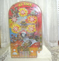 GI Attack Pinball Machine Wolverine Toy Co Pittsburgh PA USA