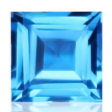 1.25ct Flawless 100% Natural earth mined top quality aaa swiss blue topaz brazil