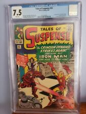 Tales Of Suspense #52 7.5 CGC (1st Appearance Of Black Widow)