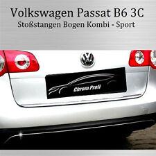VW PASSAT 3C B6 KOMBI - 3M CHROMLEISTE ZIERLEISTE STOßSTANGENBOGEN