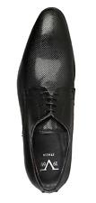 Versace1969 Luxus Business Schuhe Herrenschuhe LILIAN Schwarz Gr.43 UVP:249€