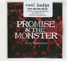 (HE192) Promise & The Monster, Fine Horsemen - 2016 DJ CD