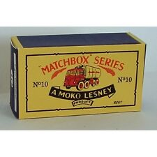 Matchbox Lesney 10 c Sugar Container Truck empty Repro B style Box