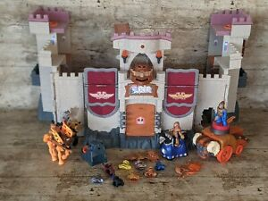 Massive Imaginext Interactive Medieval Castle With Knights & Other Accessories