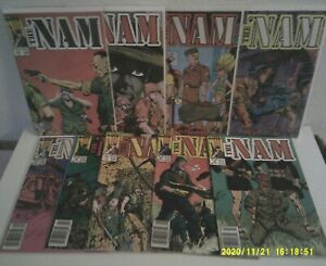 THE NAM Lot (Marvel/1986)