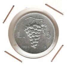 Italy: 5 Lire 1950R XF