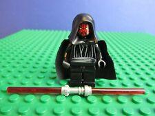 Genuine LEGO Star Wars Darth Maul Figurine Mini Fig set 7101 7961 Sith 05K