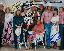 Dallas cast signed autograph 8 x10 Reprint