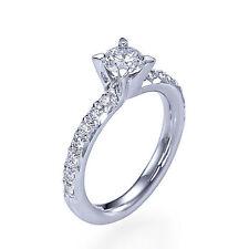 14 Carat Engagement White Gold VS1 Fine Diamond Rings