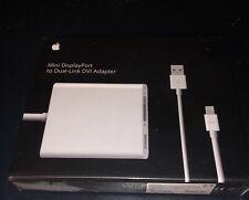 Apple Mini Displayport to Dual-Link DVI Adapter MB571Z/A NEW SEALED BOX
