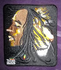 BOB MARLEY PATCH LION EMBROIDERED JAMAICA  REGGAE SKA RASTA DIY SEW/IRON ON